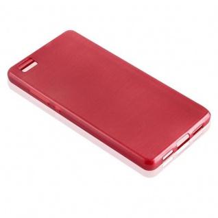 Cadorabo Hülle für Huawei P8 LITE 2015 in ROT - Handyhülle aus flexiblem TPU Silikon - Silikonhülle Schutzhülle Ultra Slim Soft Back Cover Case Bumper - Vorschau 2