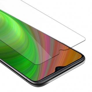 Cadorabo Panzer Folie für Xiaomi RedMi Note 8 PRO - Schutzfolie in KRISTALL KLAR - Gehärtetes (Tempered) Display-Schutzglas in 9H Härte mit 3D Touch Kompatibilität