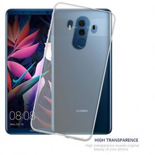 Cadorabo Hülle für Huawei MATE 10 PRO in VOLL TRANSPARENT - Handyhülle aus flexiblem TPU Silikon - Silikonhülle Schutzhülle Ultra Slim Soft Back Cover Case Bumper - Vorschau 5