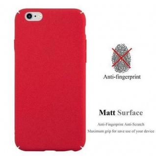 Cadorabo Hülle für Apple iPhone 6 PLUS / iPhone 6S PLUS in FROSTY ROT - Hardcase Handyhülle aus Plastik gegen Kratzer und Stöße - Schutzhülle Bumper Ultra Slim Back Case Hard Cover - Vorschau 2