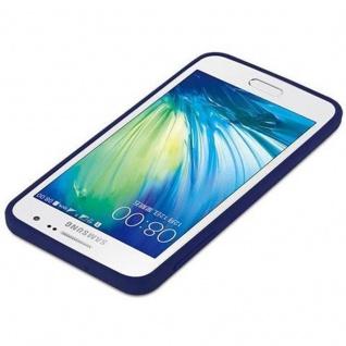 Cadorabo Hülle für Samsung Galaxy A3 2015 in CANDY DUNKEL BLAU - Handyhülle aus flexiblem TPU Silikon - Silikonhülle Schutzhülle Ultra Slim Soft Back Cover Case Bumper - Vorschau 4