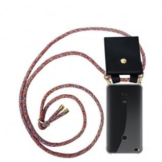 Cadorabo Handy Kette für Xiaomi Mi Max 2 in COLORFUL PARROT - Silikon Necklace Umhänge Hülle mit Gold Ringen, Kordel Band Schnur und abnehmbarem Etui ? Schutzhülle