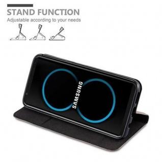 Cadorabo Hülle für Samsung Galaxy S8 PLUS in KAFFEE BRAUN - Handyhülle mit Magnetverschluss, Standfunktion und Kartenfach - Case Cover Schutzhülle Etui Tasche Book Klapp Style - Vorschau 4