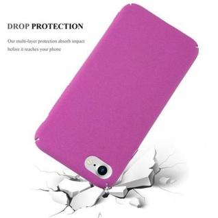 Cadorabo Hülle für Apple iPhone 7 / iPhone 7S / iPhone 8 in FROSTY PINK - Hardcase Handyhülle aus Plastik gegen Kratzer und Stöße - Schutzhülle Bumper Ultra Slim Back Case Hard Cover - Vorschau 3