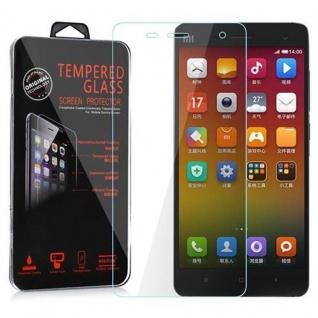 Cadorabo Panzerglas für Xiaomi 4 - Schutzfolie in KRISTALL KLAR ? Gehärtetes (Tempered) Display-Schutzglas in 9H Härte mit 3D Touch Kompatibilität