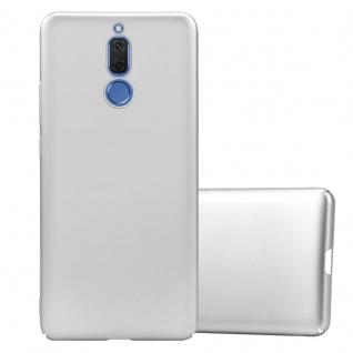 Cadorabo Hülle für Huawei MATE 10 LITE in METALL SILBER Hardcase Handyhülle aus Plastik gegen Kratzer und Stöße Schutzhülle Bumper Ultra Slim Back Case Hard Cover