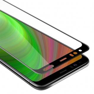 Cadorabo Vollbild Panzer Folie für Google Pixel 4 XL - Schutzfolie in TRANSPARENT mit SCHWARZ - Gehärtetes (Tempered) Display-Schutzglas in 9H Härte mit 3D Touch Kompatibilität