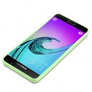 Cadorabo Hülle für Samsung Galaxy A5 2016 in CANDY PASTELL GRÜN - Handyhülle aus flexiblem TPU Silikon - Silikonhülle Schutzhülle Ultra Slim Soft Back Cover Case Bumper - Vorschau 3