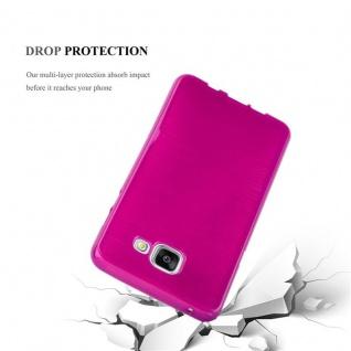 Cadorabo Hülle für Samsung Galaxy A5 2016 in PINK - Handyhülle aus flexiblem TPU Silikon - Silikonhülle Schutzhülle Ultra Slim Soft Back Cover Case Bumper - Vorschau 3