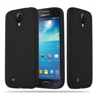 Cadorabo Hülle für Samsung Galaxy S4 in CANDY SCHWARZ - Handyhülle aus flexiblem TPU Silikon - Silikonhülle Schutzhülle Ultra Slim Soft Back Cover Case Bumper