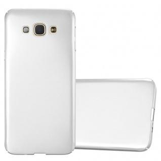 Cadorabo Hülle für Samsung Galaxy A8 2015 in METALL SILBER ? Hardcase Handyhülle aus Plastik gegen Kratzer und Stöße ? Schutzhülle Bumper Ultra Slim Back Case Hard Cover
