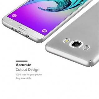 Cadorabo Hülle für Samsung Galaxy J5 2016 in METALL SILBER ? Hardcase Handyhülle aus Plastik gegen Kratzer und Stöße ? Schutzhülle Bumper Ultra Slim Back Case Hard Cover - Vorschau 3