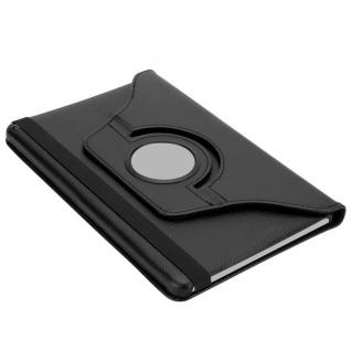 """"""" Cadorabo Tablet Hülle für Huawei MediaPad T3 8 (8, 0"""" Zoll) in HOLUNDER SCHWARZ ? Book Style Schutzhülle OHNE Auto Wake Up mit Standfunktion und Gummiband Verschluss"""" - Vorschau 5"""