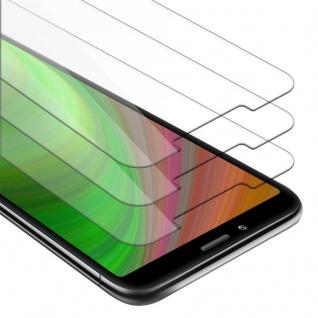Cadorabo 3x Panzer Folie für Xiaomi RedMi 7A - Schutzfolie in KRISTALL KLAR - 3er Pack Gehärtetes (Tempered) Display-Schutzglas in 9H Härte mit 3D Touch Kompatibilität