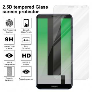 Cadorabo Panzer Folie für Huawei MATE 10 LITE - Schutzfolie in KRISTALL KLAR - Gehärtetes (Tempered) Display-Schutzglas in 9H Härte mit 3D Touch Kompatibilität - Vorschau 4