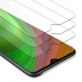 Cadorabo 3x Panzer Folie für Nokia 7.2 - Schutzfolie in KRISTALL KLAR - 3er Pack Gehärtetes (Tempered) Display-Schutzglas in 9H Härte mit 3D Touch Kompatibilität