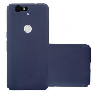 Cadorabo Hülle für Huawei NEXUS 6P in FROSTY BLAU - Hardcase Handyhülle aus Plastik gegen Kratzer und Stöße - Schutzhülle Bumper Ultra Slim Back Case Hard Cover