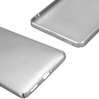 Cadorabo Hülle für Nokia 6 2017 in METALL SILBER - Hardcase Handyhülle aus Plastik gegen Kratzer und Stöße - Schutzhülle Bumper Ultra Slim Back Case Hard Cover - Vorschau 5