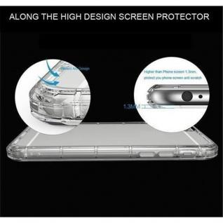 Cadorabo Hülle für Samsung Galaxy A3 2016 in TRANSPARENT BLAU - Handyhülle aus flexiblem TPU Silikon - Silikonhülle Schutzhülle Ultra Slim Soft Back Cover Case Bumper - Vorschau 4