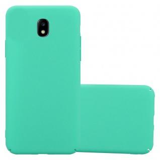 Cadorabo Hülle für Samsung Galaxy J5 2017 in FROSTY GRÜN Hardcase Handyhülle aus Plastik gegen Kratzer und Stöße Schutzhülle Bumper Ultra Slim Back Case Hard Cover
