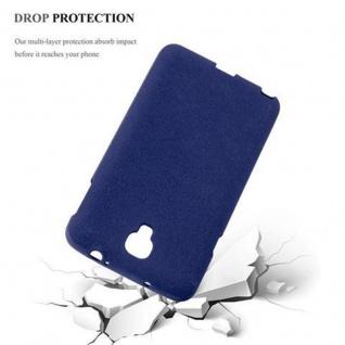 Cadorabo Hülle für Samsung Galaxy NOTE 3 NEO in FROST DUNKEL BLAU - Handyhülle aus flexiblem TPU Silikon - Silikonhülle Schutzhülle Ultra Slim Soft Back Cover Case Bumper - Vorschau 4