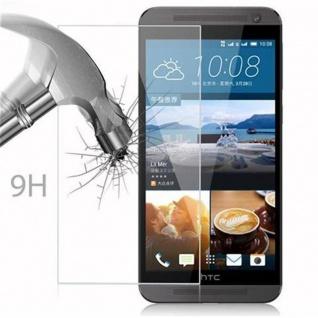 Cadorabo Panzer Folie für HTC ONE E9 - Schutzfolie in KRISTALL KLAR - Gehärtetes (Tempered) Display-Schutzglas in 9H Härte mit 3D Touch Kompatibilität - Vorschau 3