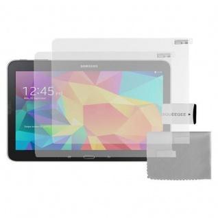 Cadorabo Displayschutzfolien für Samsung Galaxy TAB 4 7.0 Zoll - Schutzfolien in MATT CLEAR - 2 Stück antireflektierende, matte Anti-Reflex-Schutzfolien