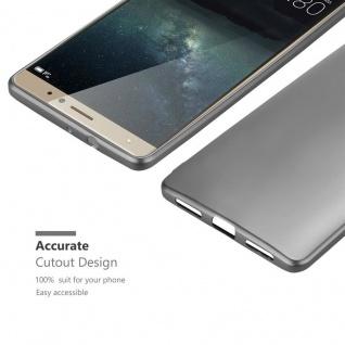 Cadorabo Hülle für Huawei MATE S in METALLIC GRAU - Handyhülle aus flexiblem TPU Silikon - Silikonhülle Schutzhülle Ultra Slim Soft Back Cover Case Bumper - Vorschau 5