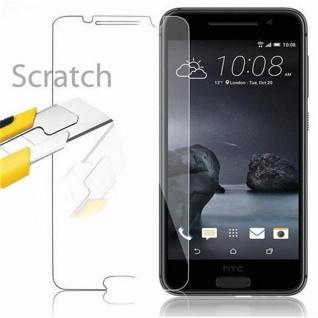 Cadorabo Panzer Folie für HTC ONE A9 - Schutzfolie in KRISTALL KLAR - Gehärtetes (Tempered) Display-Schutzglas in 9H Härte mit 3D Touch Kompatibilität - Vorschau 2