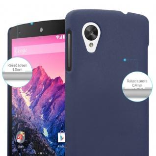 Cadorabo Hülle für LG Nexus 5 in FROSTY BLAU - Hardcase Handyhülle aus Plastik gegen Kratzer und Stöße - Schutzhülle Bumper Ultra Slim Back Case Hard Cover - Vorschau 4