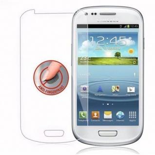 Cadorabo Panzer Folie für Samsung Galaxy S3 MINI - Schutzfolie in KRISTALL KLAR - Gehärtetes (Tempered) Display-Schutzglas in 9H Härte mit 3D Touch Kompatibilität - Vorschau 4