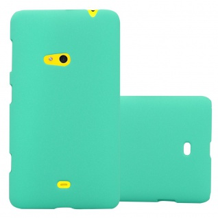 Cadorabo ? Mattes Hard Cover Slim Case Frosty für Nokia Lumia 625 - Cover Schutz-hülle in FROSTY-GRÜN