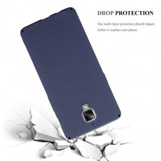 Cadorabo Hülle für OnePlus 3 / 3T in FROSTY BLAU - Hardcase Handyhülle aus Plastik gegen Kratzer und Stöße - Schutzhülle Bumper Ultra Slim Back Case Hard Cover - Vorschau 3
