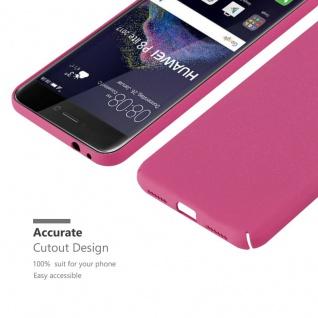 Cadorabo Hülle für Huawei P8 Lite 2017 in FROSTY PINK - Hardcase Handyhülle aus Plastik gegen Kratzer und Stöße - Schutzhülle Bumper Ultra Slim Back Case Hard Cover - Vorschau 5