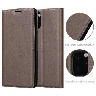 Cadorabo Hülle für Apple iPhone 11 PRO (XI PRO) in KAFFEE BRAUN - Handyhülle mit Magnetverschluss, Standfunktion und Kartenfach - Case Cover Schutzhülle Etui Tasche Book Klapp Style - Vorschau 5