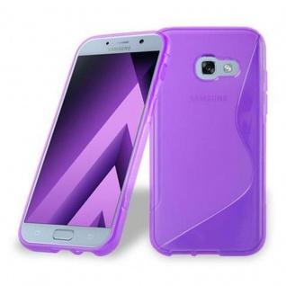 Cadorabo Hülle für Samsung Galaxy A3 2017 in FLIEDER VIOLETT ? Handyhülle aus flexiblem TPU Silikon ? Silikonhülle Schutzhülle Ultra Slim Soft Back Cover Case Bumper