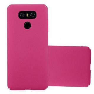 Cadorabo Hülle für LG G6 in FROSTY PINK Hardcase Handyhülle aus Plastik gegen Kratzer und Stöße Schutzhülle Bumper Ultra Slim Back Case Hard Cover
