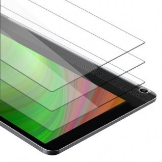 """Cadorabo 3x Panzer Folie für Lenovo Yoga Tablet 3 10 (10.1"""" Zoll) Schutzfolie in KRISTALL KLAR 3er Pack Gehärtetes (Tempered) Display-Schutzglas in 9H Härte mit 3D Touch Kompatibilität"""