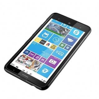 Cadorabo Hülle für Nokia Lumia 1320 in JELLY SCHWARZ - Handyhülle aus flexiblem TPU Silikon - Silikonhülle Schutzhülle Ultra Slim Soft Back Cover Case Bumper - Vorschau 2