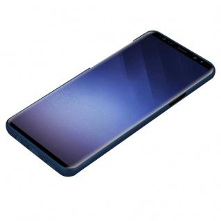 Cadorabo Hülle für Samsung Galaxy S9 PLUS in METALL BLAU - Hardcase Handyhülle aus Plastik gegen Kratzer und Stöße - Schutzhülle Bumper Ultra Slim Back Case Hard Cover - Vorschau 3