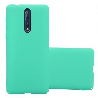 Cadorabo Hülle für Nokia 8 2017 in FROSTY GRÜN - Hardcase Handyhülle aus Plastik gegen Kratzer und Stöße - Schutzhülle Bumper Ultra Slim Back Case Hard Cover