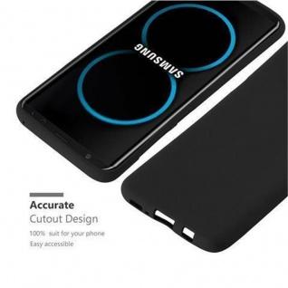 Cadorabo Hülle für Samsung Galaxy S8 PLUS in FROST SCHWARZ - Handyhülle aus flexiblem TPU Silikon - Silikonhülle Schutzhülle Ultra Slim Soft Back Cover Case Bumper - Vorschau 3
