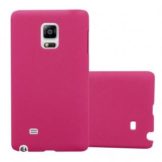 Cadorabo Hülle für Samsung Galaxy NOTE EDGE in FROSTY PINK - Hardcase Handyhülle aus Plastik gegen Kratzer und Stöße - Schutzhülle Bumper Ultra Slim Back Case Hard Cover