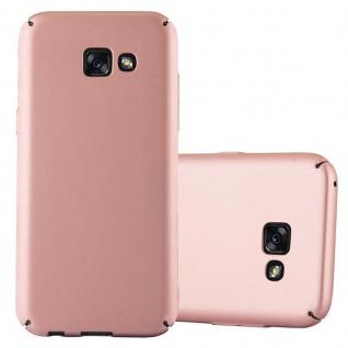 Cadorabo Hülle für Samsung Galaxy A5 2017 in METALL ROSE GOLD - Hardcase Handyhülle aus Plastik gegen Kratzer und Stöße - Schutzhülle Bumper Ultra Slim Back Case Hard Cover