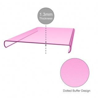 Cadorabo Hülle für Huawei MATE 10 PRO in TRANSPARENT PINK - Handyhülle aus flexiblem TPU Silikon - Silikonhülle Schutzhülle Ultra Slim Soft Back Cover Case Bumper - Vorschau 4