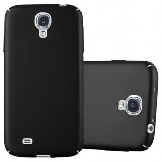 Cadorabo Hülle für Samsung Galaxy S4 in METALL SCHWARZ - Hardcase Handyhülle aus Plastik gegen Kratzer und Stöße - Schutzhülle Bumper Ultra Slim Back Case Hard Cover