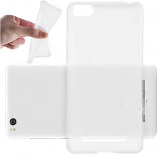 Cadorabo Hülle für Xiaomi Mi 4 in VOLL TRANSPARENT - Handyhülle aus flexiblem TPU Silikon - Silikonhülle Schutzhülle Ultra Slim Soft Back Cover Case Bumper