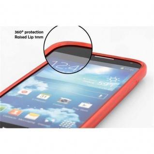 Cadorabo Hülle für Huawei P8 LITE 2015 in ROT - Handyhülle aus flexiblem TPU Silikon - Silikonhülle Schutzhülle Ultra Slim Soft Back Cover Case Bumper - Vorschau 5