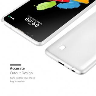 Cadorabo Hülle für LG Stylus 2 in METALLIC SILBER - Handyhülle aus flexiblem TPU Silikon - Silikonhülle Schutzhülle Ultra Slim Soft Back Cover Case Bumper - Vorschau 5