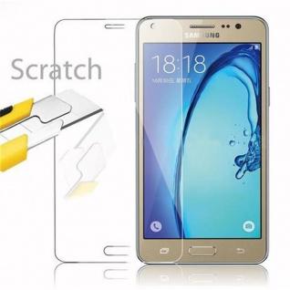 Cadorabo Panzer Folie für Samsung Galaxy On5 - Schutzfolie in KRISTALL KLAR - Gehärtetes (Tempered) Display-Schutzglas in 9H Härte mit 3D Touch Kompatibilität - Vorschau 2